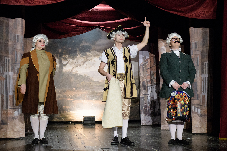 cisarove nové šaty, nové divadlo v nitre